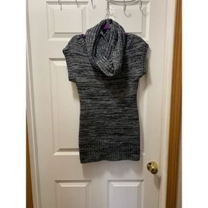 It's Our Time Grey Sweater Dress